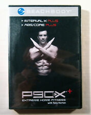 """NEW! ~ P90X+ """"INTERVAL X + ABS/CORE"""" Extreme Home Fitness Tony Horton DVD"""