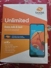 New listing Lg K51 (Lm-K500Um 32 Gb Black Boost Mobile open box