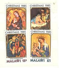 MALAWI LOT TIMBRES THEMES RELIGION CROIX EGLISES NOEL  ECT ...