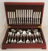 BEAD Design CHINCRAFT LONDON Silver Service 124 Piece Canteen of Cutlery