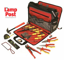 CK Tools 595003 Electricians Premium Tool Kit 19 Pc Pliers Cutter Case