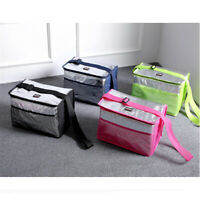 8/18L Portable Insulated Thermal Cooler Lunch Box Tote Picnic Storage Bag