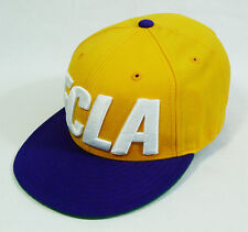 Flight Club New York FCLA NBA Lakers inspired Mitchell & Ness Fitted Hat Cap