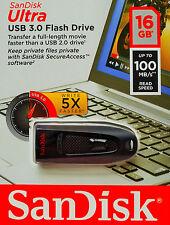 Sandisk Ultra 16GB USB 3.0 USB Stick 100MB/S USB Speicherstick SDCZ48-016G-U46