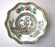 COALPORT INDIAN TREE CHINA SCALLOPED DEMITASSE SAUCER