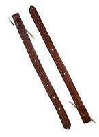 SADDLE CINCH GIRTH HORSE TACK BILLET STRAPS BASKET WEAVE TOOLED FLANK BILLETS