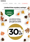 Kohls one time use 30% off entire purchase. exp 9/26 in store or online