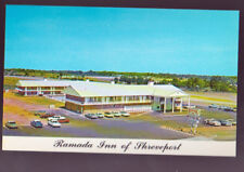 SHREVEPORT LOUISIANA LA Ramada Inn 1950s Cars Truck Vintage Postcard