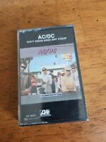 NEW SEALED 1976 AC/DC DIRTY DEEDS DONE DIRT CHEAP CASSETTE TAPE