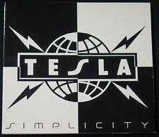 Tesla - Simplicity CD (2014, Tesla Electric)
