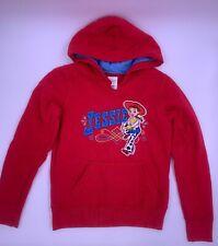 Disney Store Red Toy Story Jessie Sweatshirt Pull Over Hoodie Girls Large