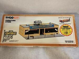 TYCO HO scale Furniture Store #7774B model/kit  & FREE LIGHT KIT