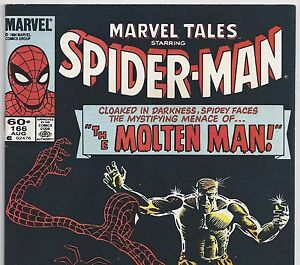 The AMAZING SPIDER-MAN #28 Reprint in Marvel Tales #166 from Aug. 1984 in F/VF