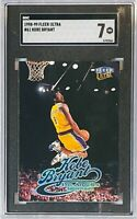 KOBE BRYANT 1998-99 FLEER ULTRA CARD SGC GRADED 7 HOF  LA LOS ANGELES LAKERS