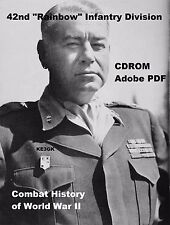 42nd Rainbow Infantry Division History * World War II * CDROM * PDF