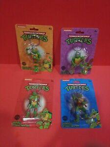 """Teenage Mutant Ninja Turtles Keychain 2.5"""" Figures *4pc*"""