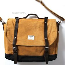 SANDQVIST IZZY WAXED CANVAS LAPTOP MESSENGER BAG SWEDEN SOLD OUT EXTINCT RARE