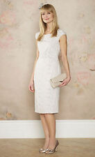 NEW with TAGS MONSOON NATURAL SHIFT OCCASION DRESS SIZE 18 WEDDING