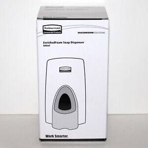 Rubbermaid Enriched Foam Soap Dispenser 800 ml White wall mounted commercial