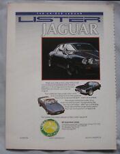 1988 Lister Jaguar Original advert