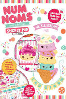 Num Noms Sticker Pad Childrens Activity Stickers Party Bag Stocking Filler