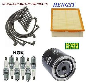 Tune Up Kit Filters with Plugs Wire Set FIT Volkswagen Passat V6; 2.8L 1998-2005