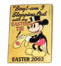 LE 4 Disney Auction Pin✿Mickey RARE Gold Prototype Formal Top Hat Stepping Out