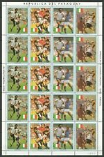 EC156 1989 PARAGUAY SPORT FOOTBALL WORLD CUP ITALY 90 MICHEL 36 EURO BIG SH MNH