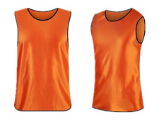 Pack of 6 & 12  Soccer jersey Bibs Adult Sports team Scrimmage Training Vests