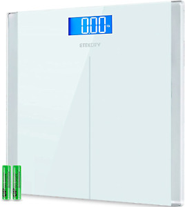 Digital Body Weight Bathroom Scale with Step-On Technology, 400 Lb