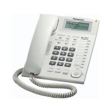Panasonic KX-TS880EXW TELEFONO FISSO DA UFFICIO Re-Dial MONTABILE A PARETE