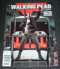 2014 THE WALKING DEAD Magazine #9 VF- 7.5 San Diego Comic-Con Exclusive / Neegan