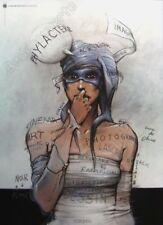 Affiche Enki Bilal Bande Dessinée 50x70 cm