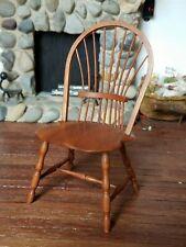 Dollhouse Miniature Artisan William Bill Clinger Windsor Chair 1:12 A/A