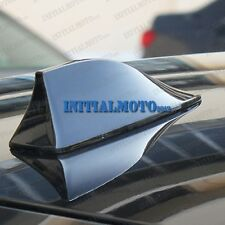 Car SUV Roof Shark Fin Antenna Aerial FM/AM Radio Mount Mast Signal Base Sticker