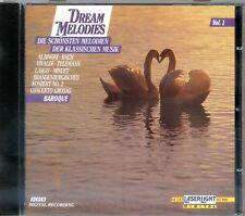 CD Dream Melodies - Die schönsten Melodien der Klassischen Musik Baroque - Vol.1