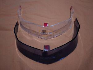 KYT NF-R / NFR / NX-Race - Helmet Rear Spoiler (Clear/Dark Smoke)