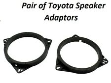 "CT25TY02 Toyota Corolla Rear Doors 165mm 6.5"" 2002 to 2007 Speaker Adaptor Kit"