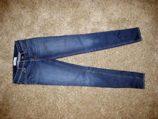 LOT OF 5 ABERCROMBIE AND HOLLISTER KIDS JEANS, GREAT SHAPE