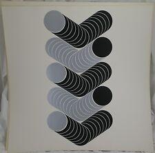 Lenk Thomas 1933-2014 Serigraphie Geometrische Komposition 63/100 - 1970