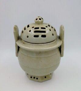 Antique Korean large Celadon Censer