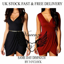 Polyester Dresses for Women with Slimming All Seasons