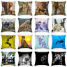 18'' Animals Polyester Pillow Case Sofa Cushion Cover Pillow Cover Home Decor