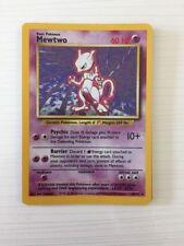 Mewtwo Base Set Pokémon Individual Cards