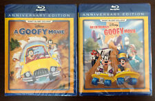 Disney's A GOOFY MOVIE & AN EXTREMELY GOOFY MOVIE (Blu-ray) [DMC Exclusive] NEW!