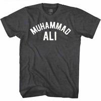 Muhammad Ali Vintage Boxing Training Logo Men's T Shirt Champion Fighter Legend