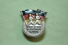 DDR Sportabzeichen - Bereit zur Arbeit und Verteidigung d. Friedens - in Silber