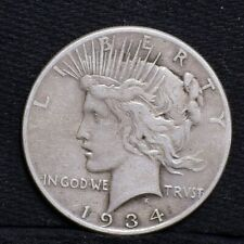 1934 Peace Dollar - VF (#25256)