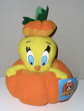NEUF HALLOWEEN collection peluche TITI TWEETY potiron LOONEY TUNES WARNER BROS