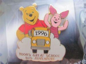 Disney Trading Pins 8275 100 Years of Dreams #74 Pooh's Great School Bus Adventu